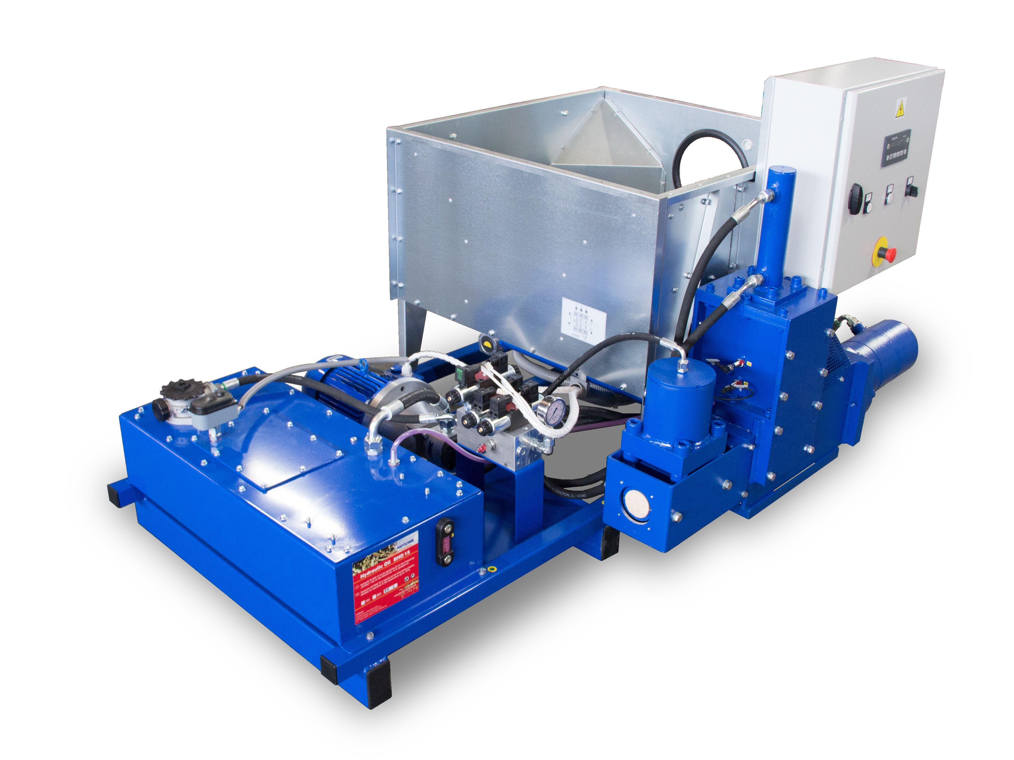 Technical data Briquetting press