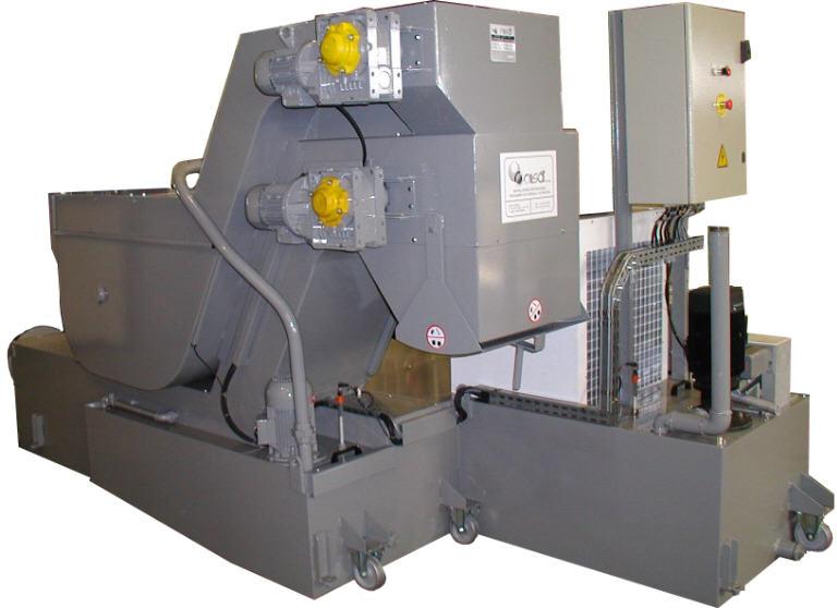 Technical data Coolant Filtration centralized plants